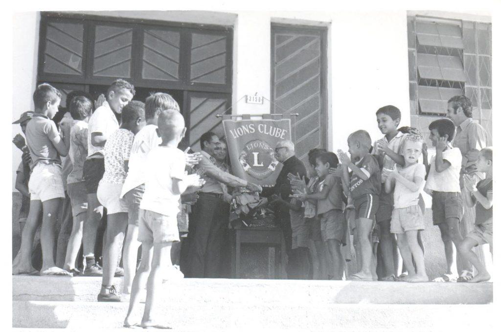 Dom Antônio Zattera, a frente do Instituto de Menores