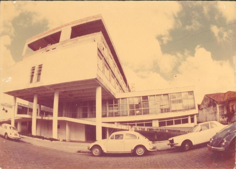 Rampa do Hospital São Francisco de Paula já em funcionamento