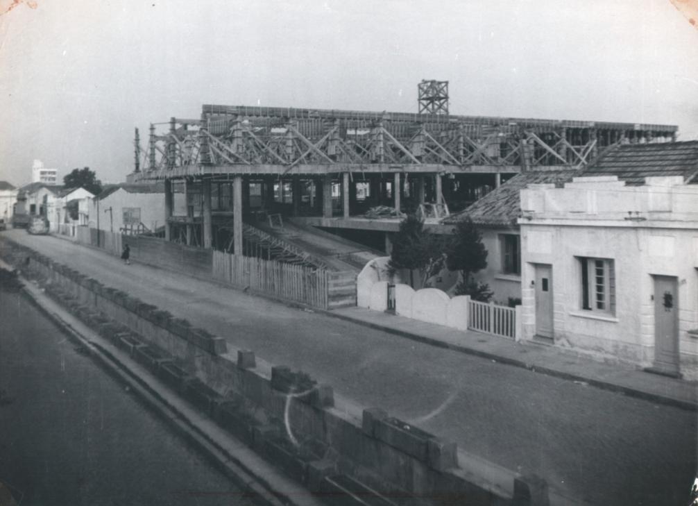 Criação da rampa do Hospital São Francisco de Paula