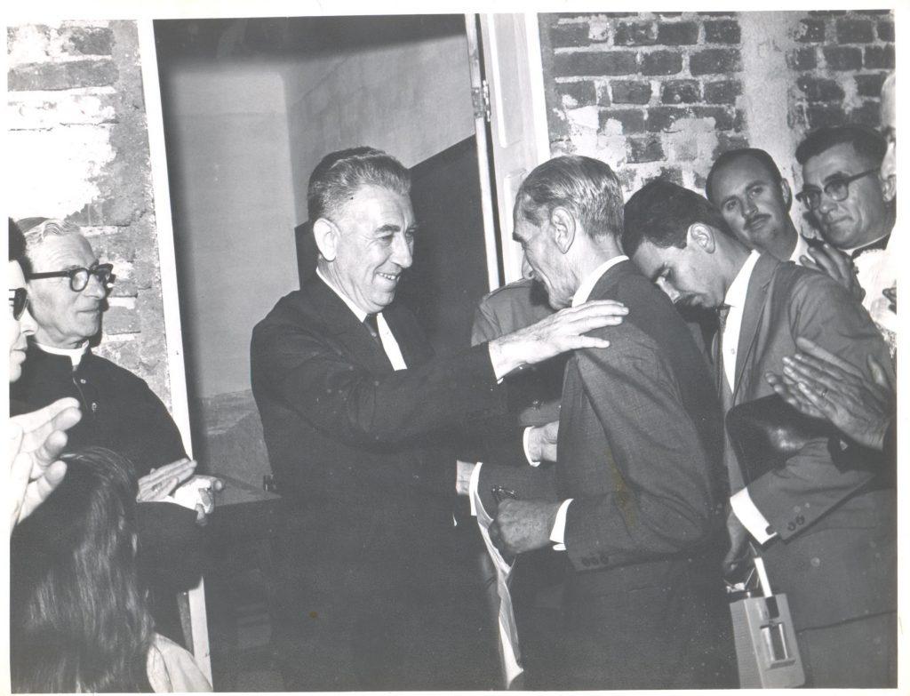 Inauguração do pavilhão de aulas em 1967